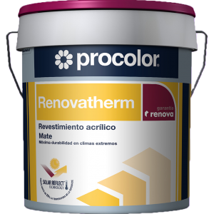 Renovatherm - Revestimiento de alta calidad formulado con exclusiva Sol Reflect Technology™.