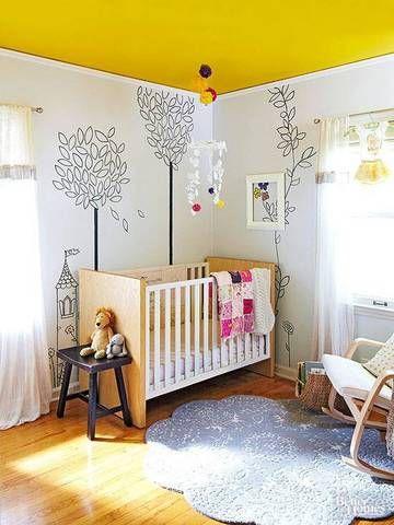 Una tendencia de moda techos pintados disnapin - Como pintar paredes y techos ...