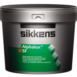 Alphalux SF - Pintura plástica al agua libre de disolventes.