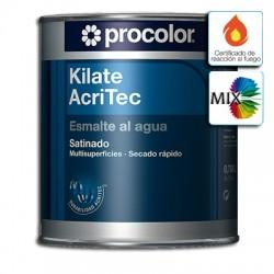 Kilate Acritec Satinado Mix - Esmalte al agua