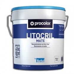 Litocril - Revestimiento acrílico mate.