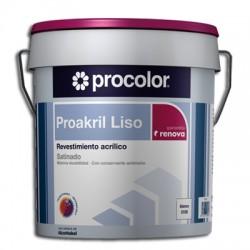 Proakril Liso Satinado - Revestimiento acrílico.