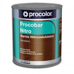 Procobar Nitro - Sistema compuesto por una laca tapaporos y  dos barnices nitrocelulósicos