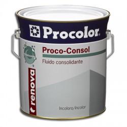 Prococonsol Polisiloxanos - Fluido consolidante.