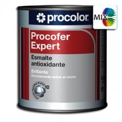 Procofer Expert Brillante Mix - Esmalte antioxidante liso directo al metal/óxido
