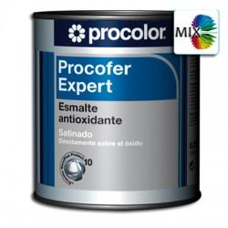 Procofer Expert Satinado Mix - Esmalte antioxidante liso directo al metal/óxido
