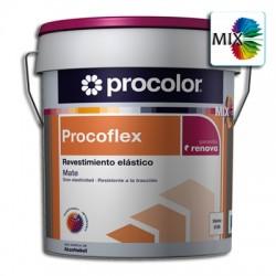 Procoflex Liso Semimate Mix - Revestimiento elástico.