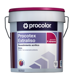 Procotex Extraliso Mate - Revestimiento acrílico.