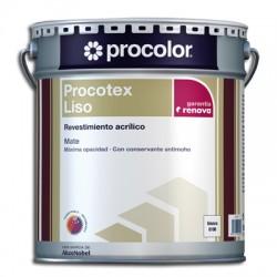 Procotex Liso Mate - Revestimiento acrílico.
