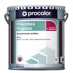 Procotex Rugoso Mate - Revestimiento acrílico.