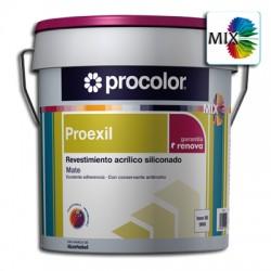 Proexil Mate Mix - Revestimiento acrílico siliconado.