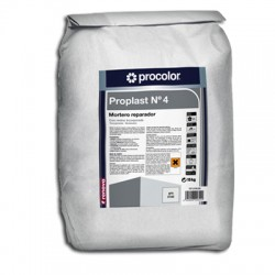 Proplast Nº4 - Mortero reparador con resina incorporada.