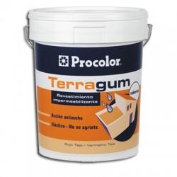 Terragum - Revestimiento mate fotoreticulable no asfáltico.